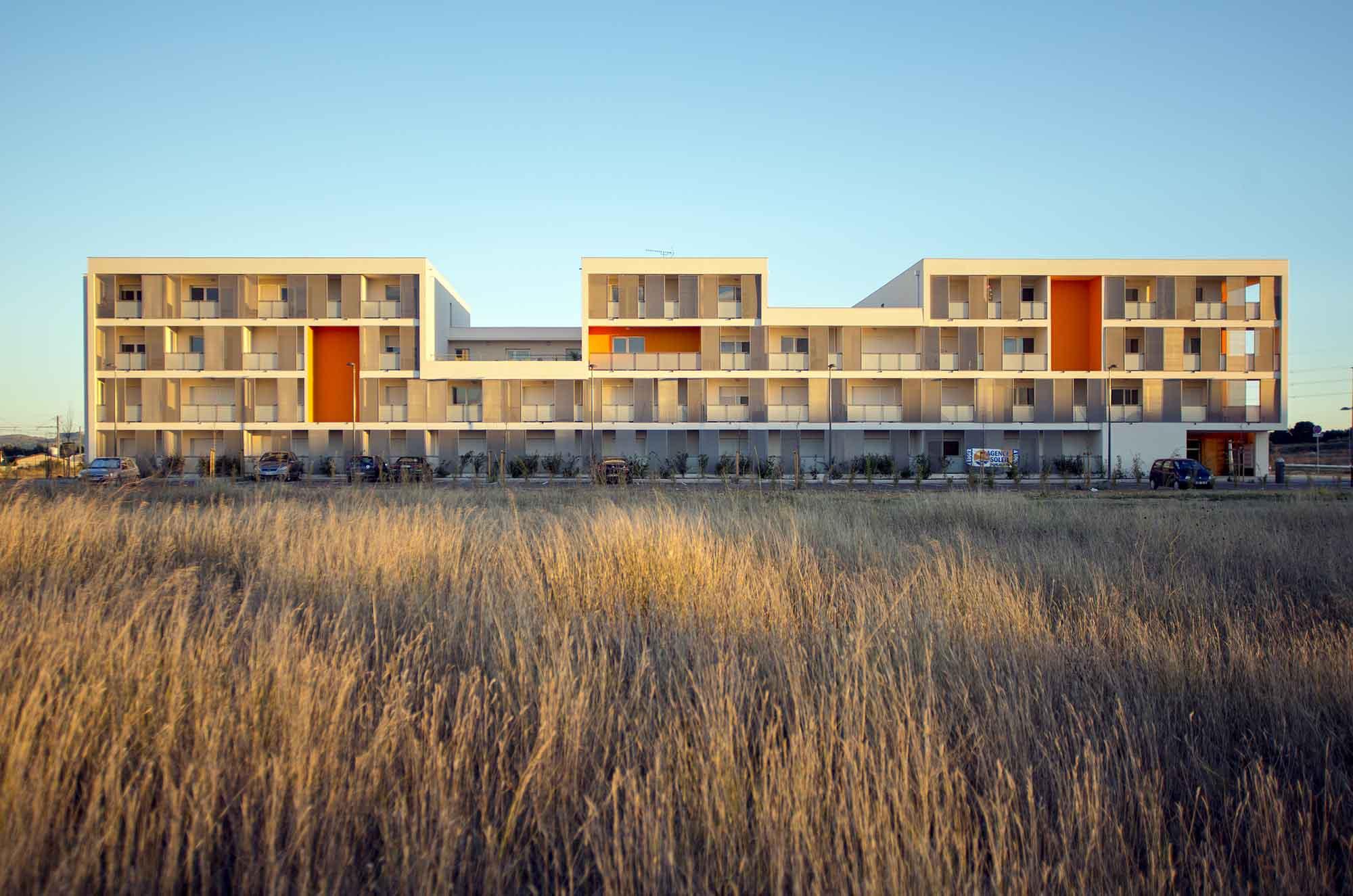 Photographe-architecture-Agence-Rayssac-projet-logement-collectif-sud-france-occitanie-aude