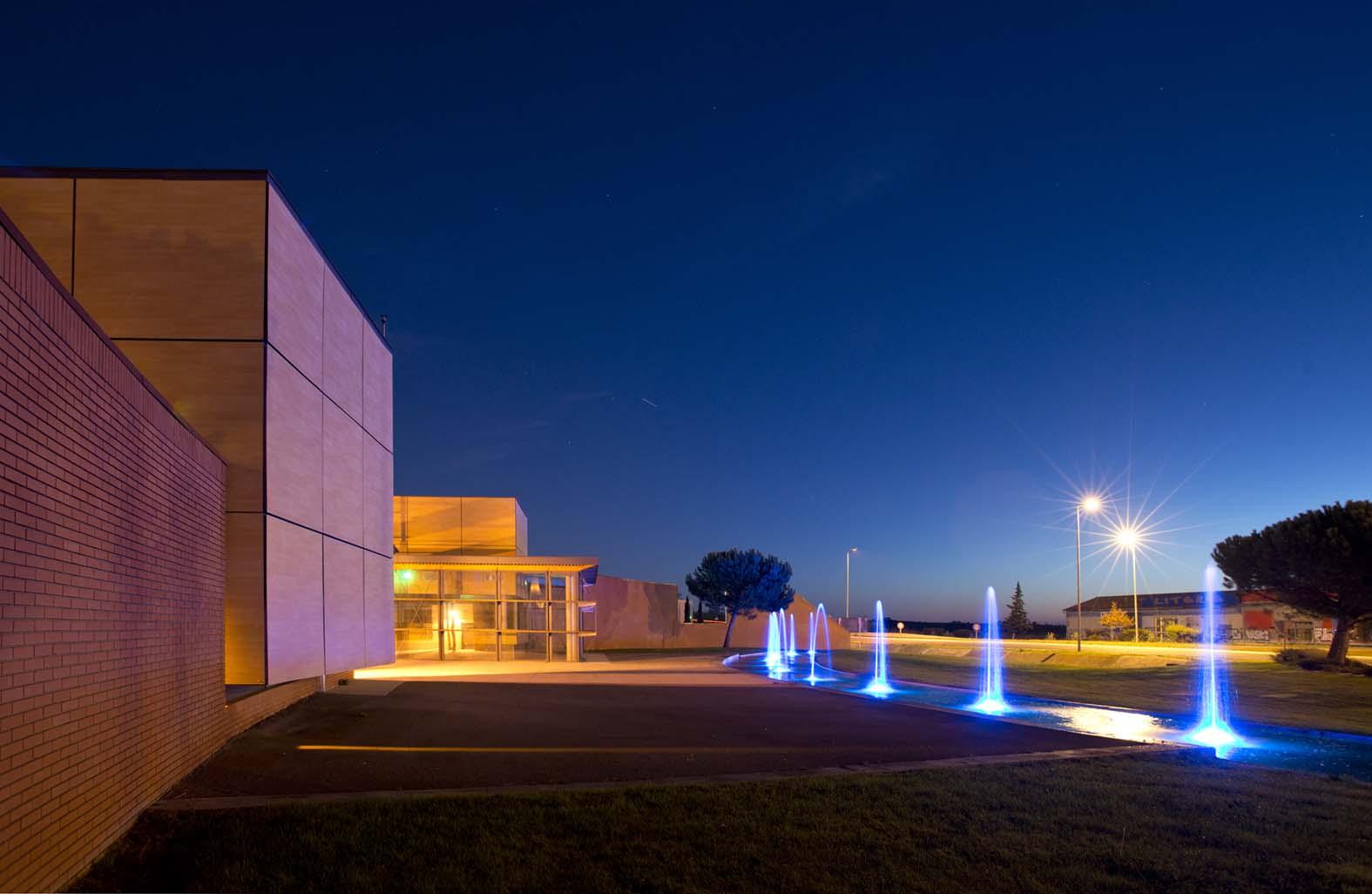 Pollestres-Entree-Ville-architecture-agena-ivan-morin-Perpignan-photographe